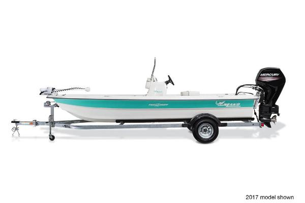 2018 Mako boat for sale, model of the boat is Pro Skiff 19 CC & Image # 3 of 9
