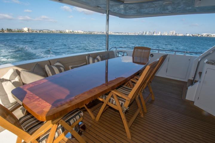 Cal deck table