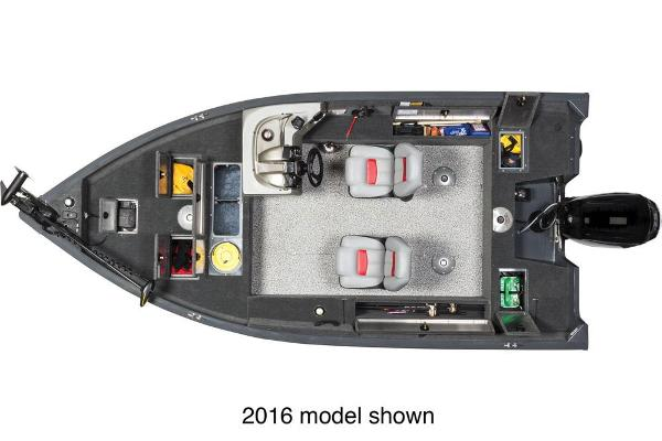2017 Tracker Boats boat for sale, model of the boat is Pro Guide V-16 SC & Image # 2 of 3