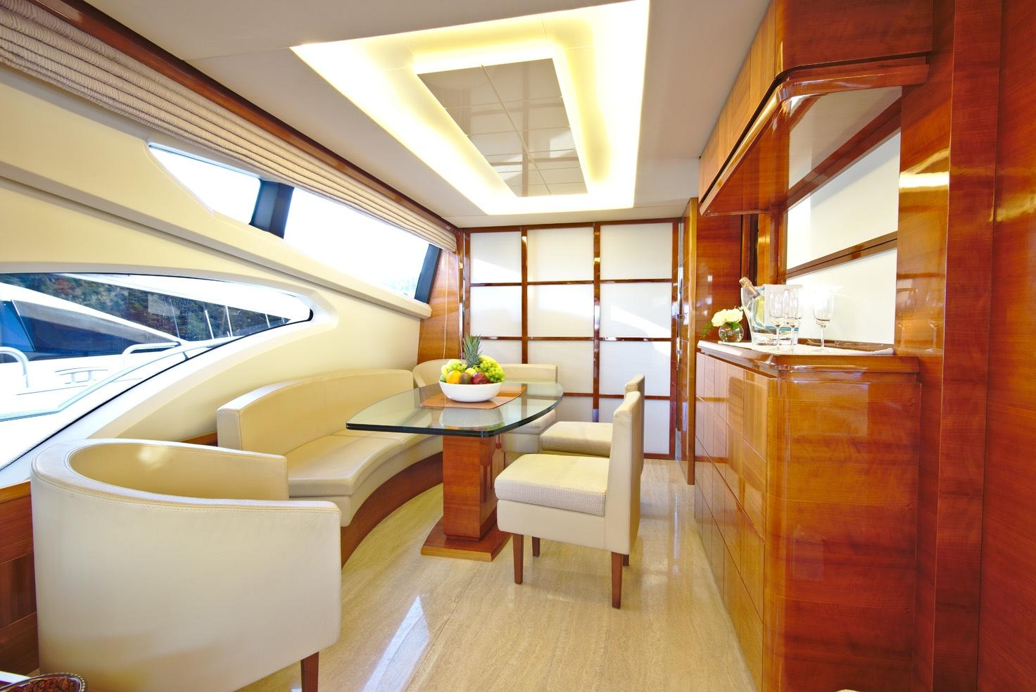 Galley dining area