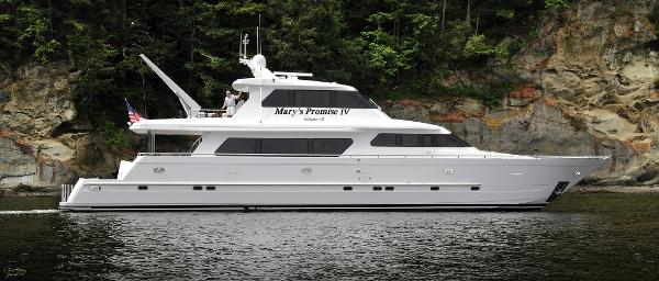 Picture Of:  92' Horizon Skylounge Cockpit Motor Yacht 2003Yacht For Sale | 2 of 34