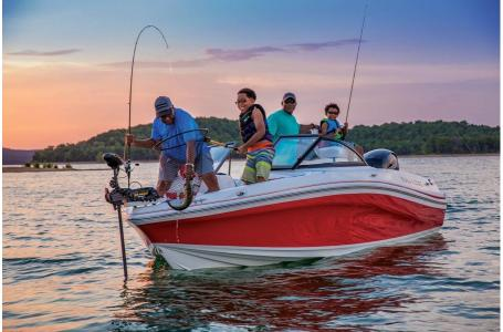 2019 Tahoe boat for sale, model of the boat is 550 TF Fish OB & Image # 16 of 20