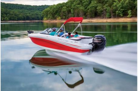 2019 Tahoe boat for sale, model of the boat is 550 TF Fish OB & Image # 2 of 20