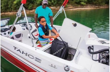 2019 Tahoe boat for sale, model of the boat is 550 TF Fish OB & Image # 9 of 20
