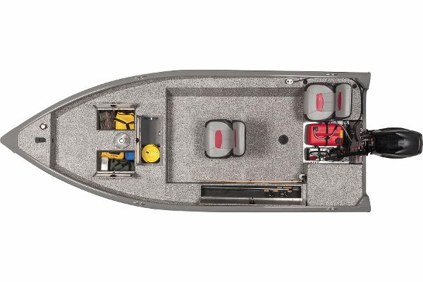 2016 Tracker Boats boat for sale, model of the boat is Guide V-16 Laker DLX T & Image # 10 of 11