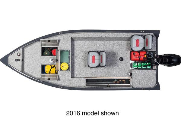2017 Tracker Boats boat for sale, model of the boat is Guide V-16 Laker DLX T & Image # 2 of 3
