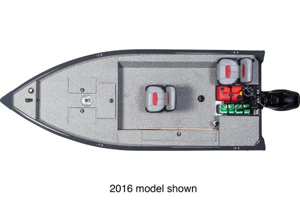 2017 Tracker Boats boat for sale, model of the boat is Guide V-16 Laker DLX T & Image # 3 of 3