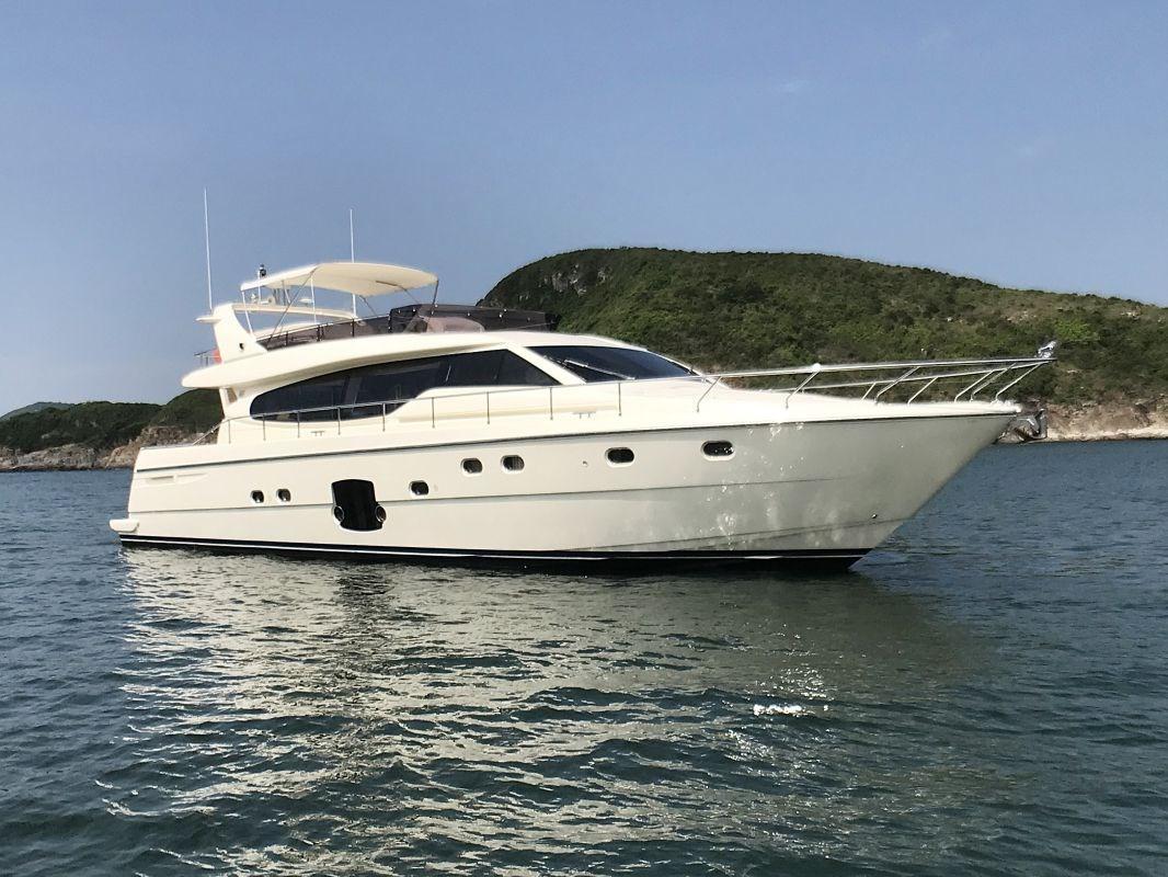 Ferretti Yachts 630 Photo