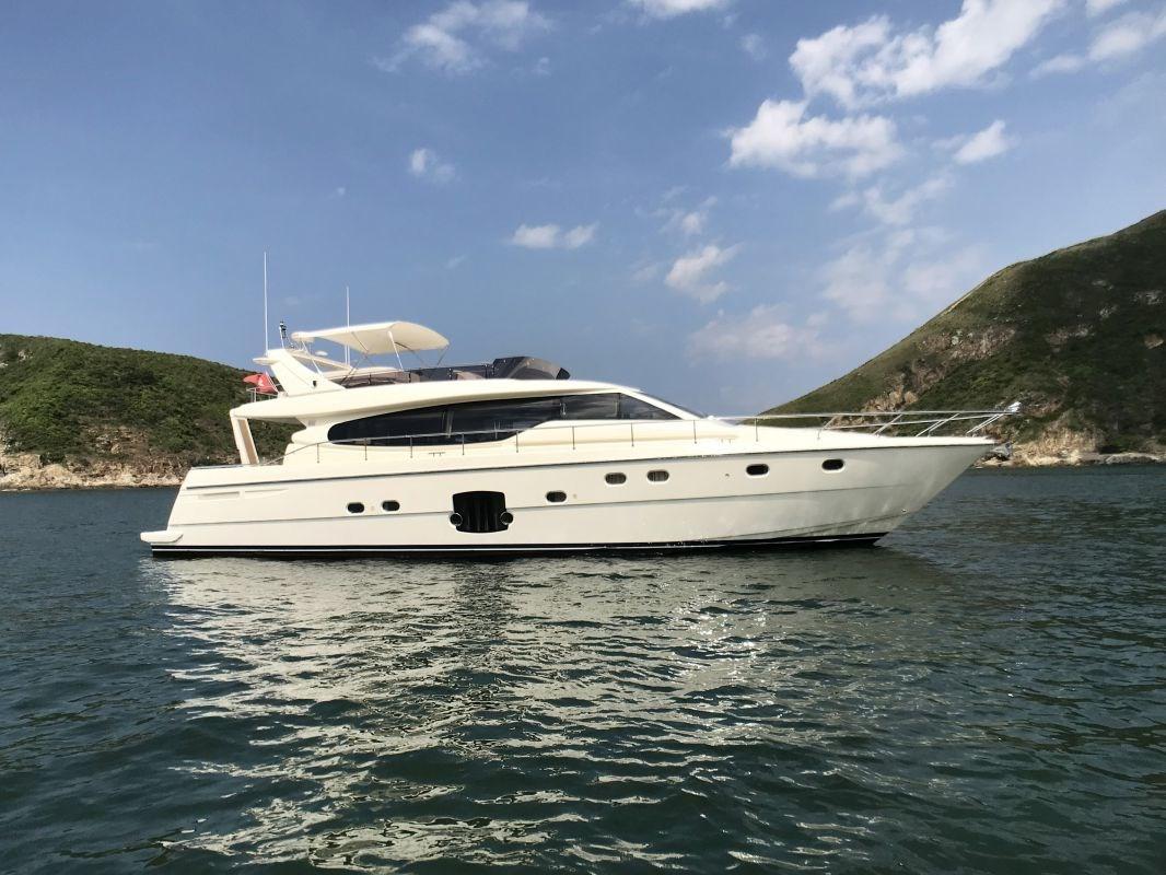 Ferretti Yachts 630 Profile