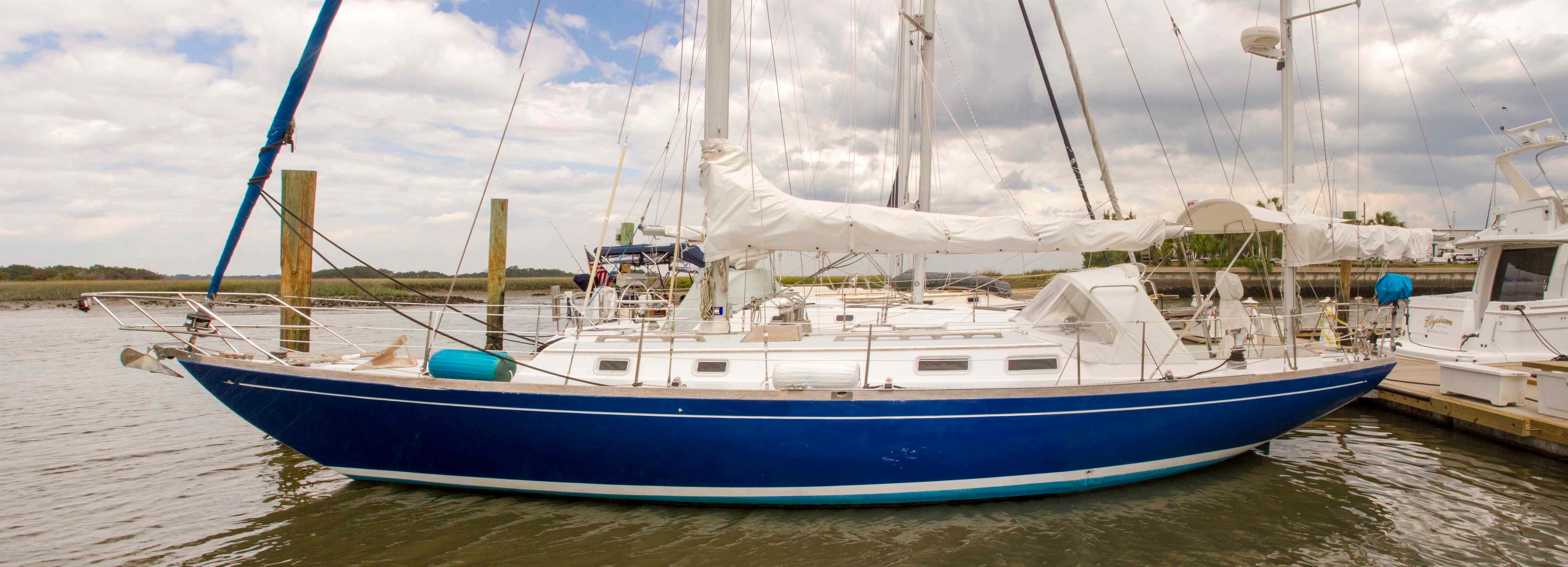 40' Migrator Yachts 1987 Tripp Block Island 40 Yawl