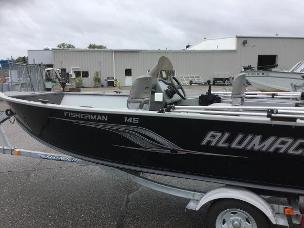 2012 ALUMACRAFT FISHERMAN 145 CS for sale
