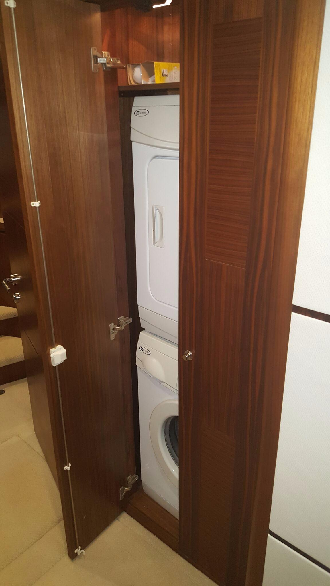 Washer and Dryer outside Staterooms