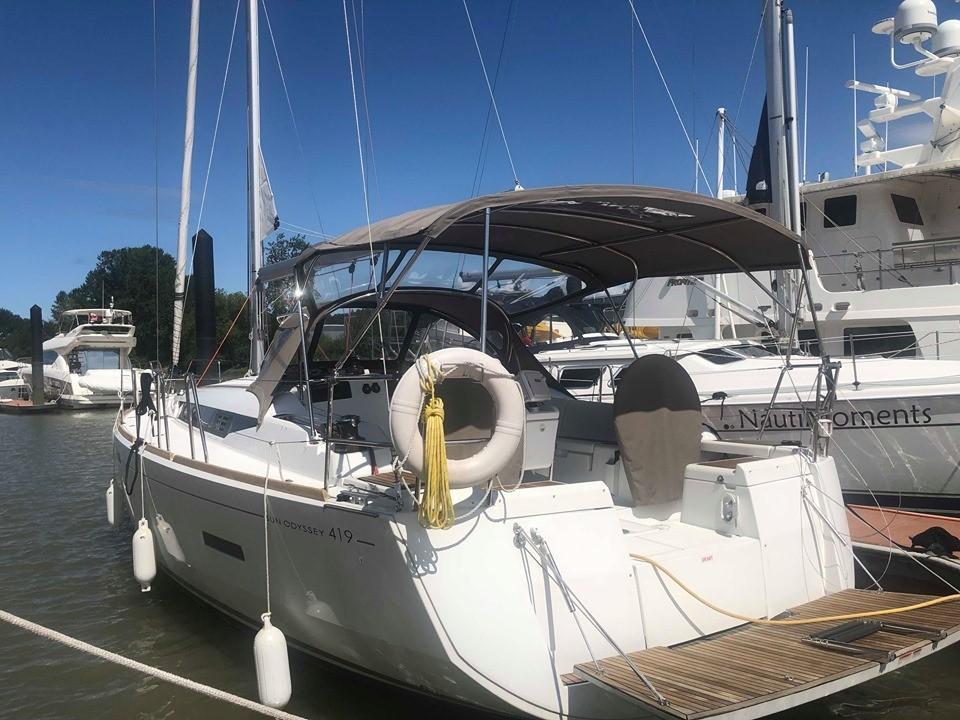 41 Jeanneau 2017 VANCOUVER | Denison Yacht Sales