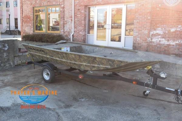 2020 Tracker Boats boat for sale, model of the boat is GRIZZLY® 1448 Jon & Image # 4 of 13