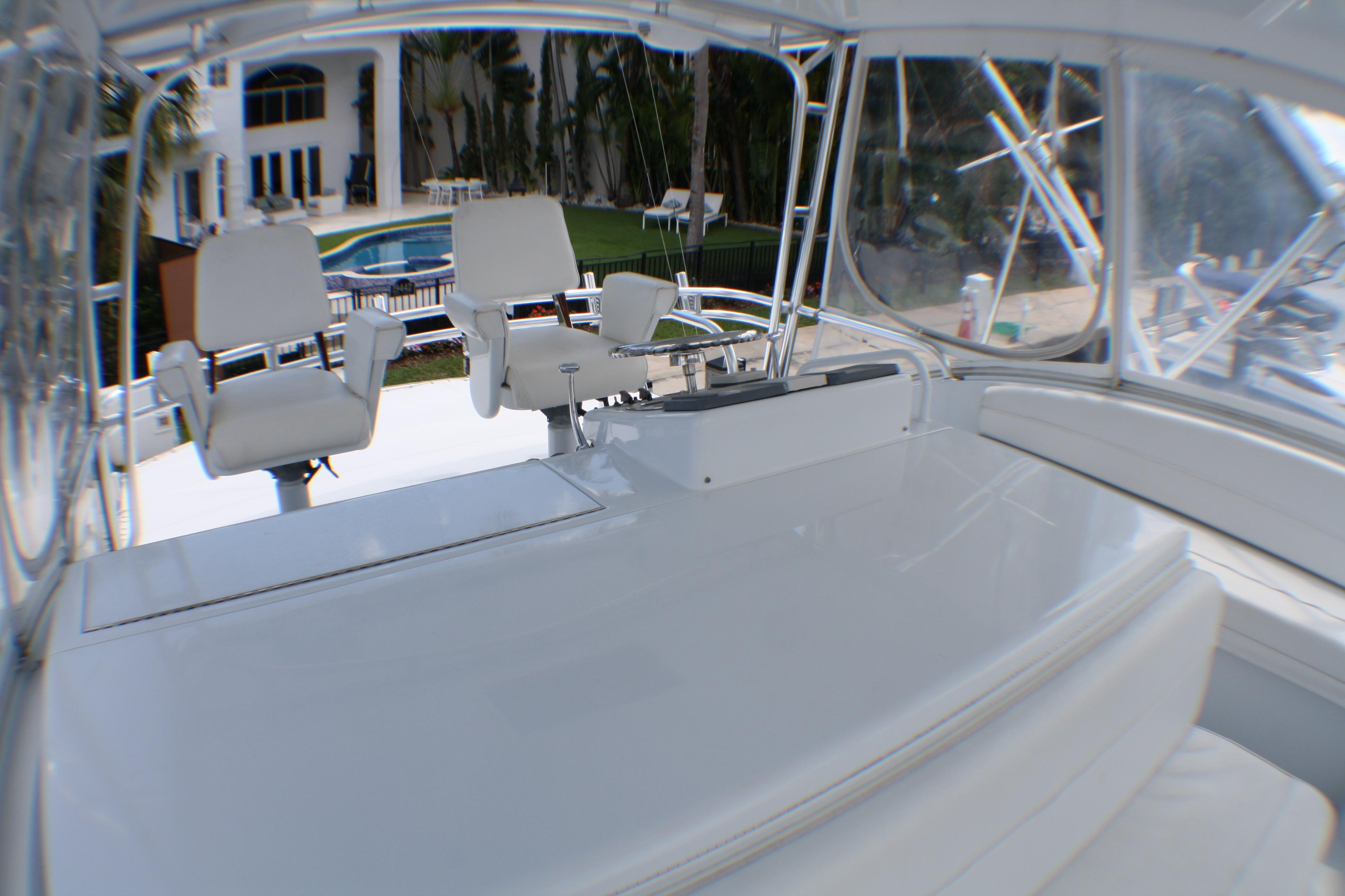 Used Hatteras 54 Yachts for Sale in Miami- Denison Yachting