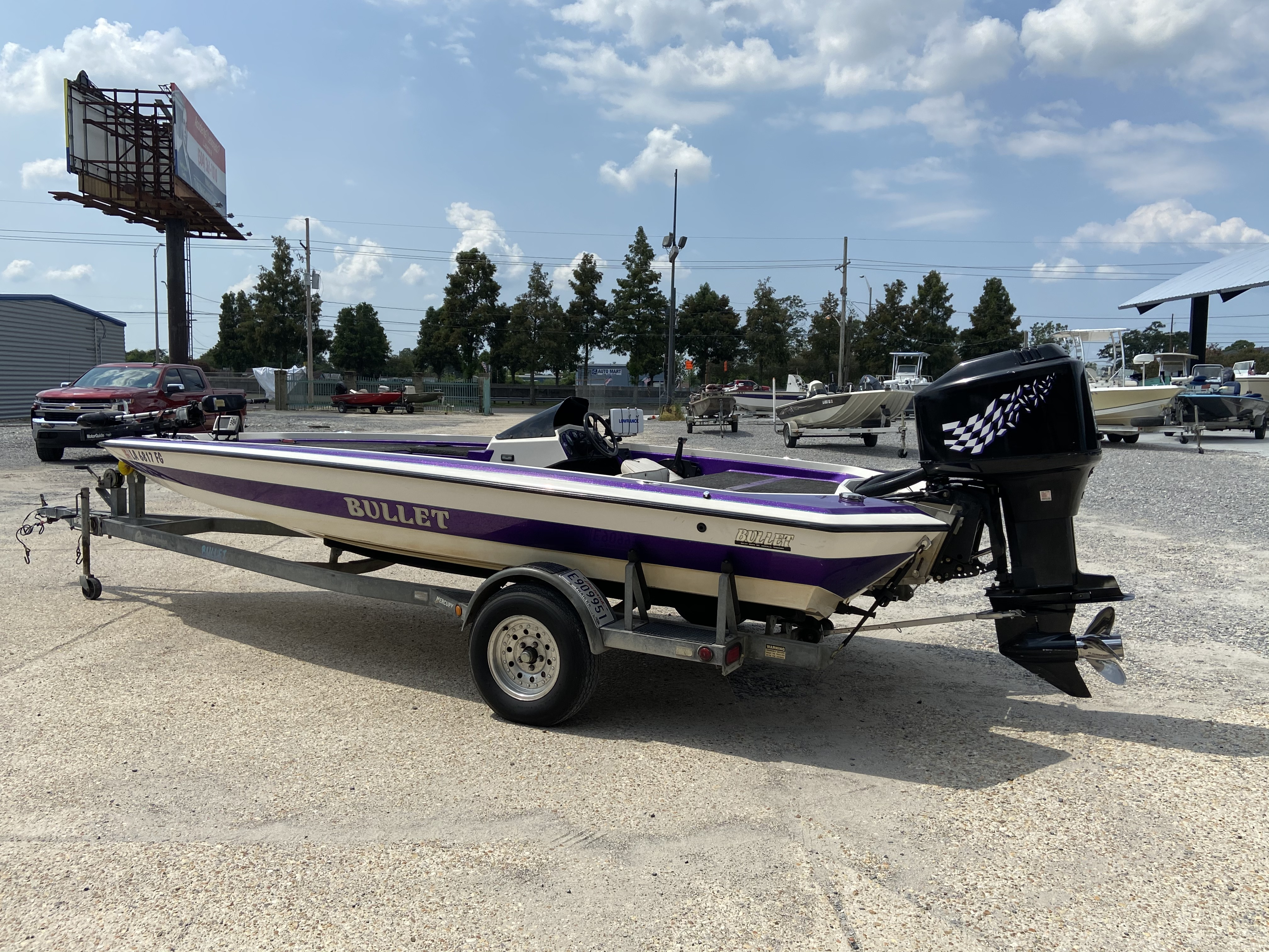 1998 Bullet boat for sale, model of the boat is 20 & Image # 8 of 14