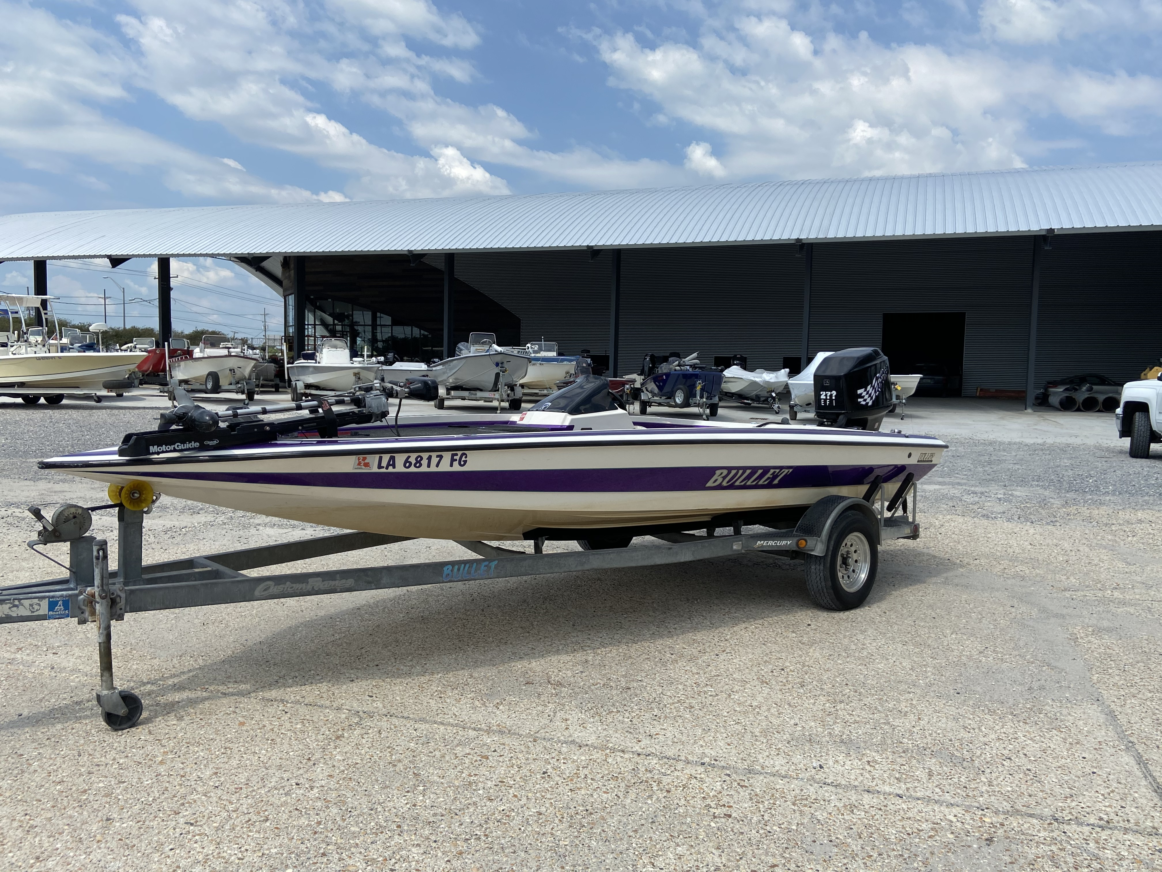1998 Bullet boat for sale, model of the boat is 20 & Image # 10 of 14
