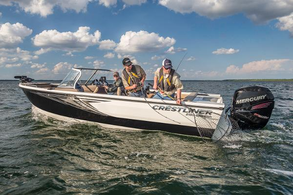 2017 CRESTLINER 2150 SPORTFISH OUTBOARD for sale