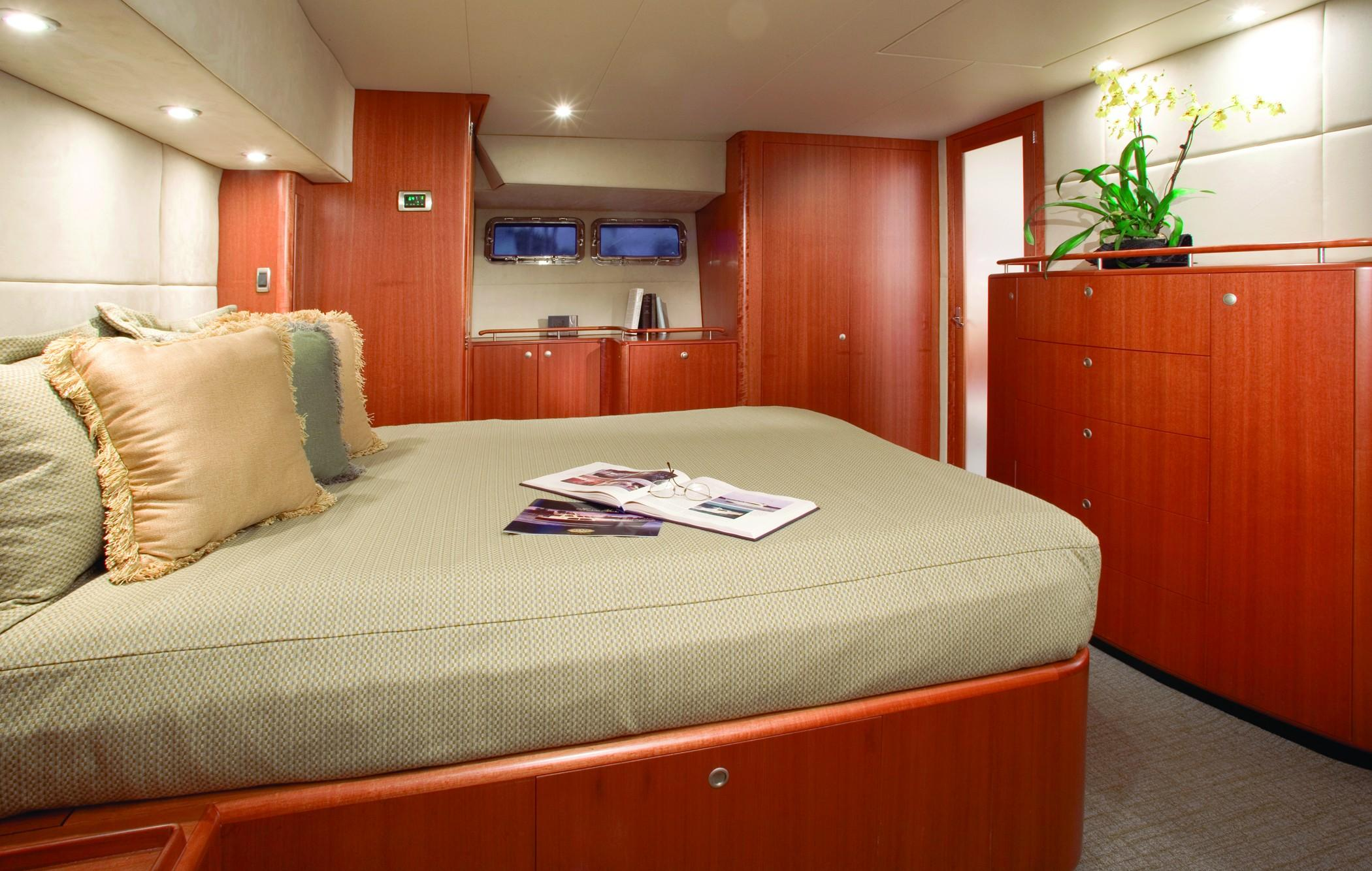 Master Stateroom with his and her ensuite bath