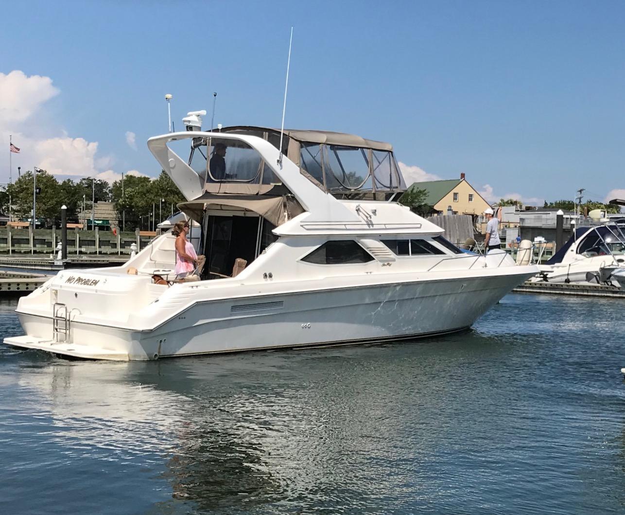 44 Sea Ray No Problem 1996 Riverhead | Denison Yacht Sales