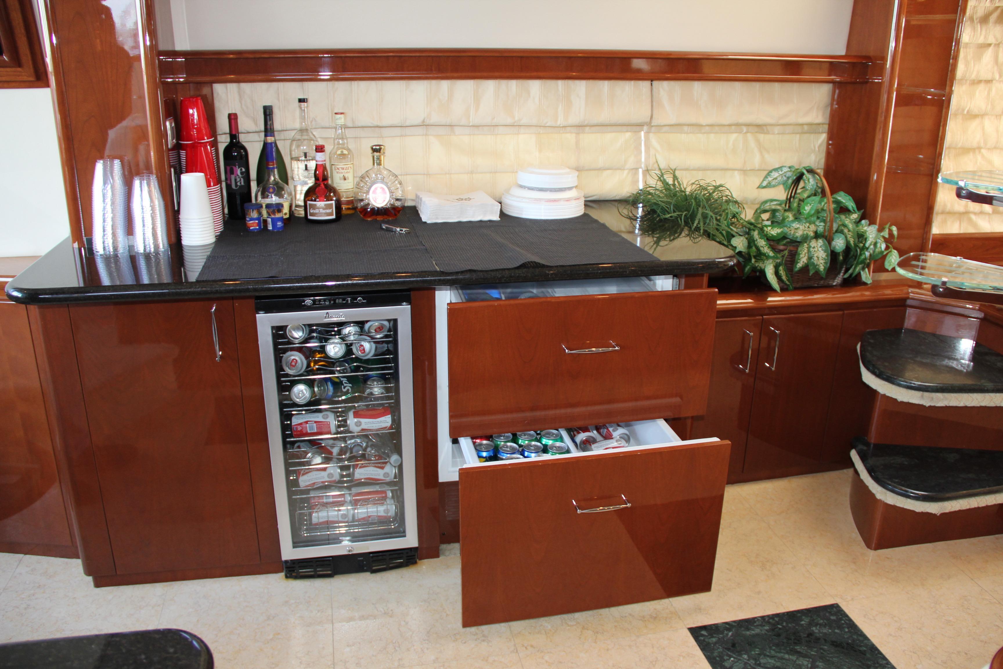Custom Serving Bar