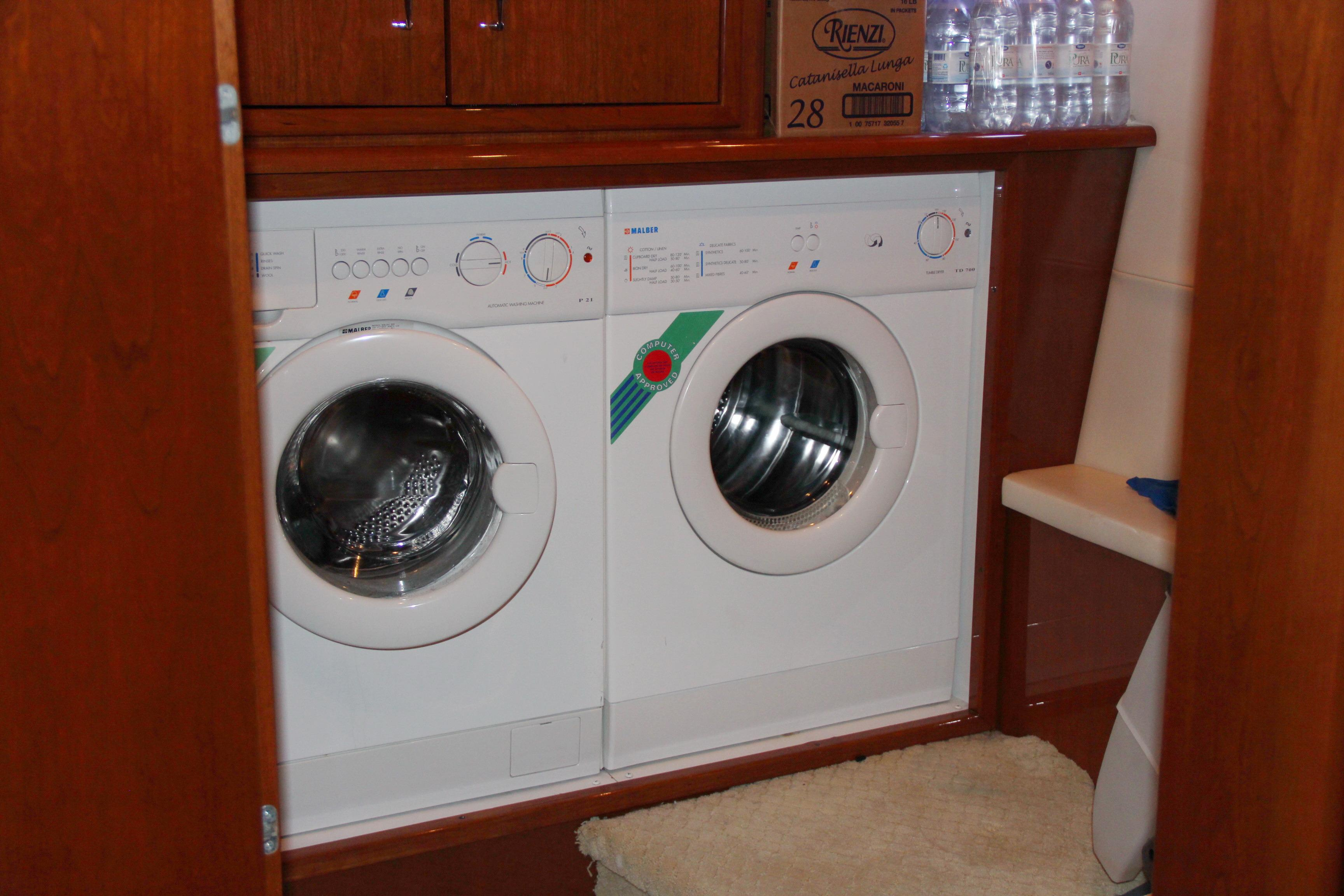 Laundry Room with Custom Storage Cabinets