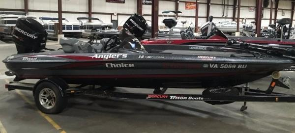 2012 TRITON 18 EXPLORER for sale