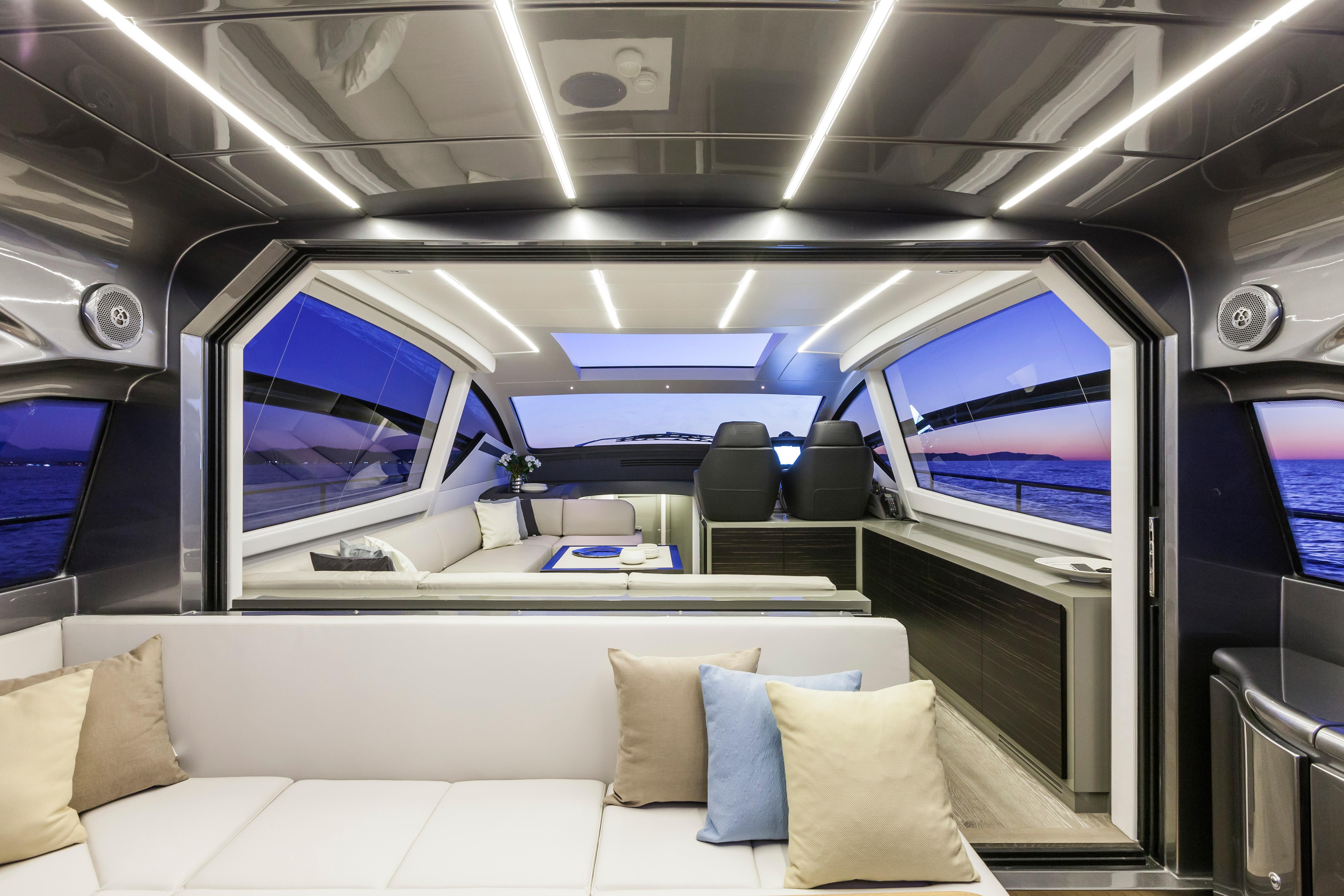 Manufacturer Provided Image: Pershing 62 Interior