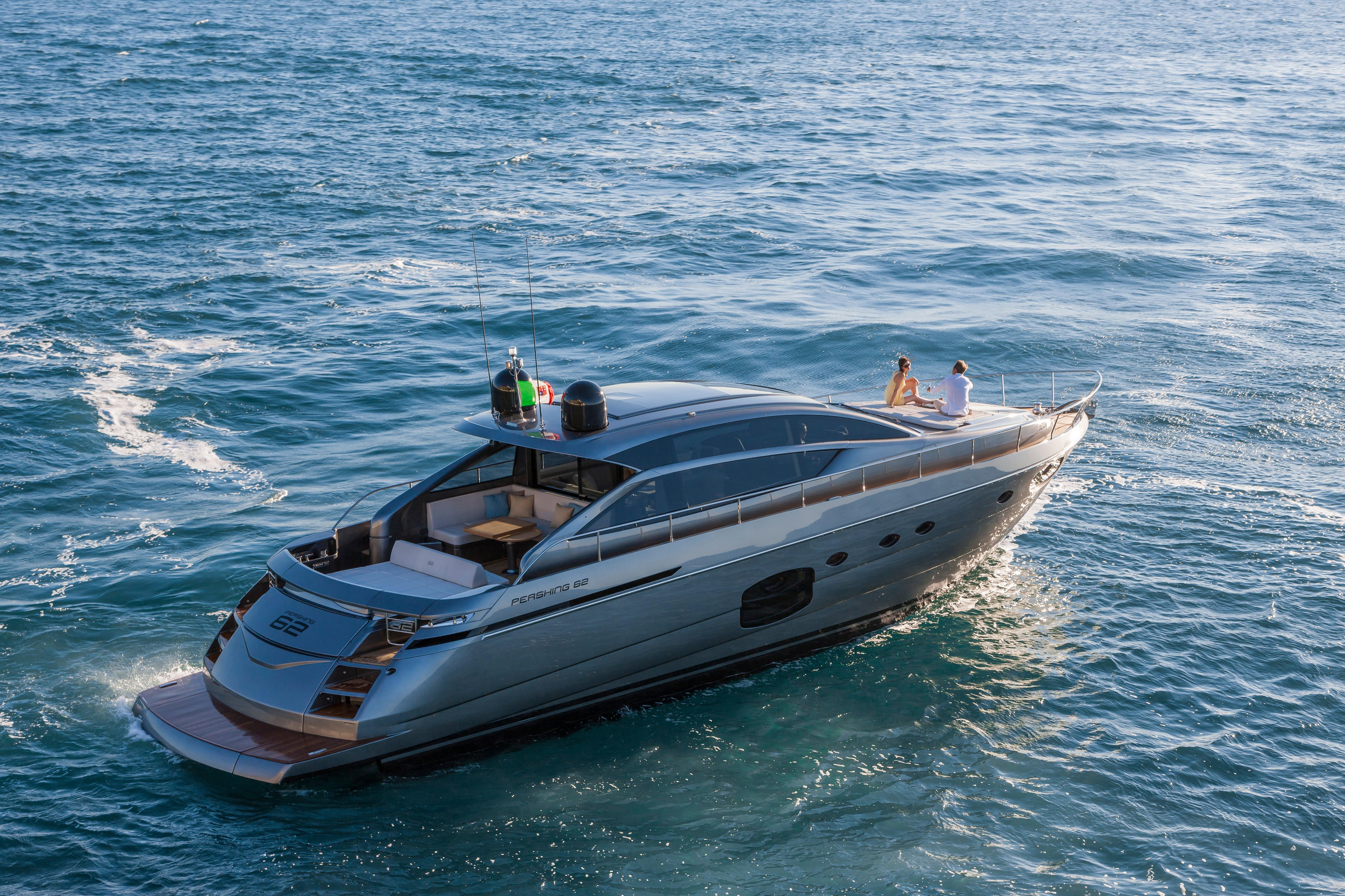 Manufacturer Provided Image: Pershing 62 Stern