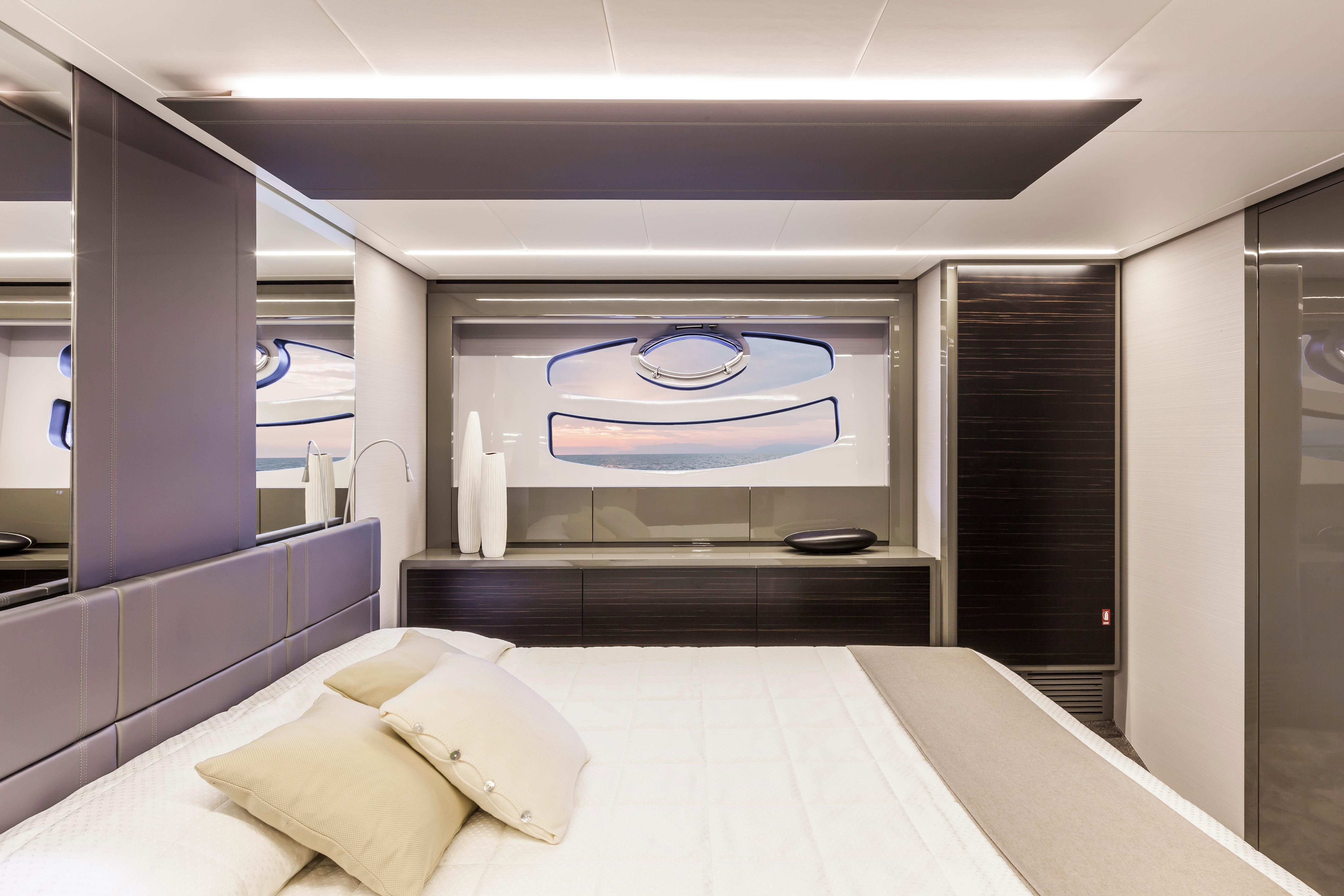 Manufacturer Provided Image: Pershing 62 Cabin