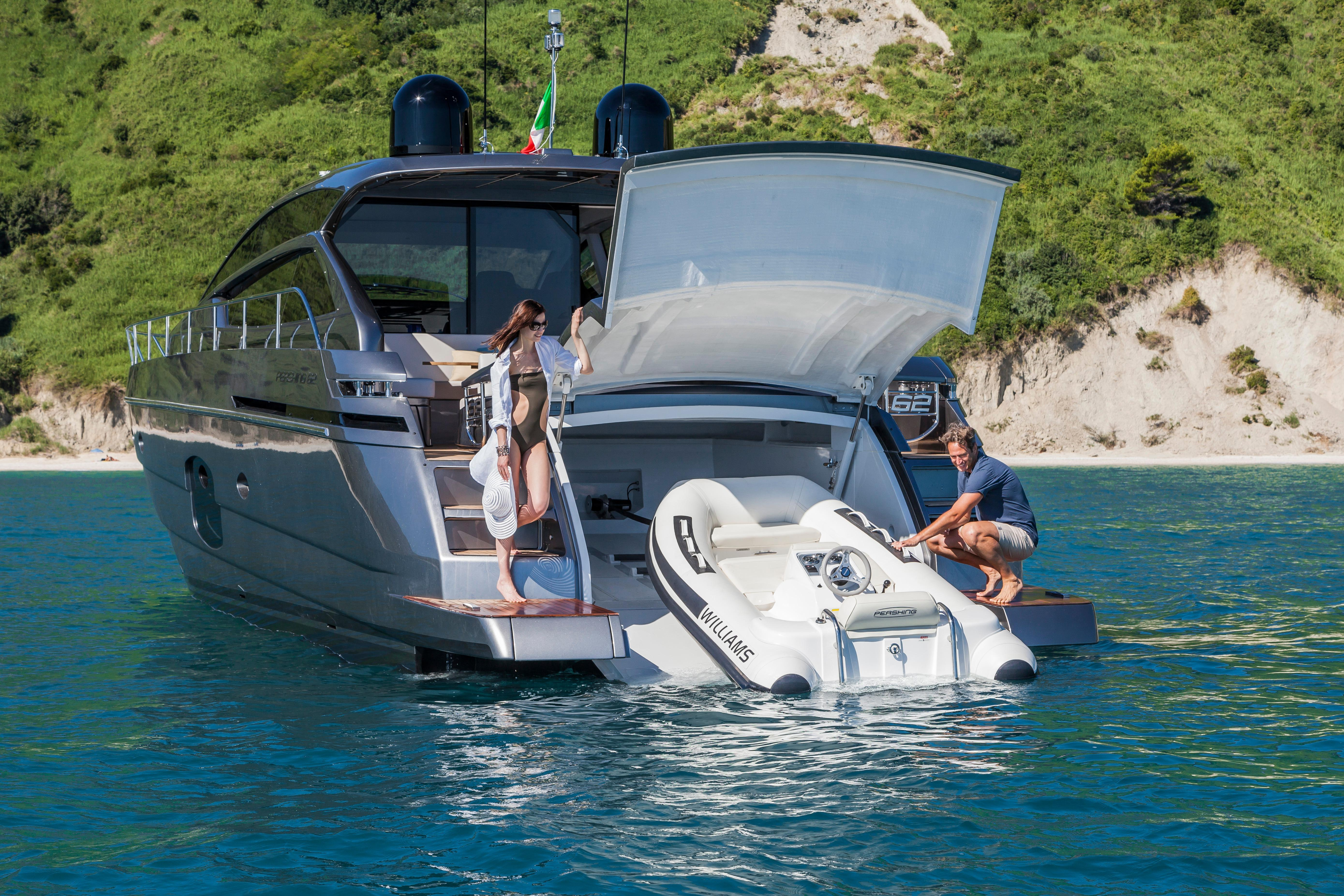 Manufacturer Provided Image: Pershing 62 Tender