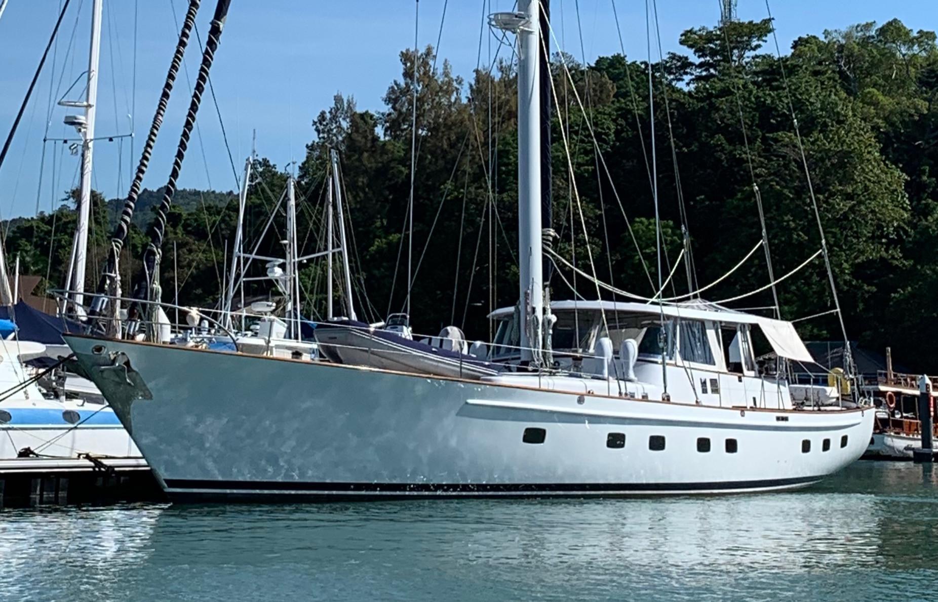 Palmer Johnson Custom 87ft Sail