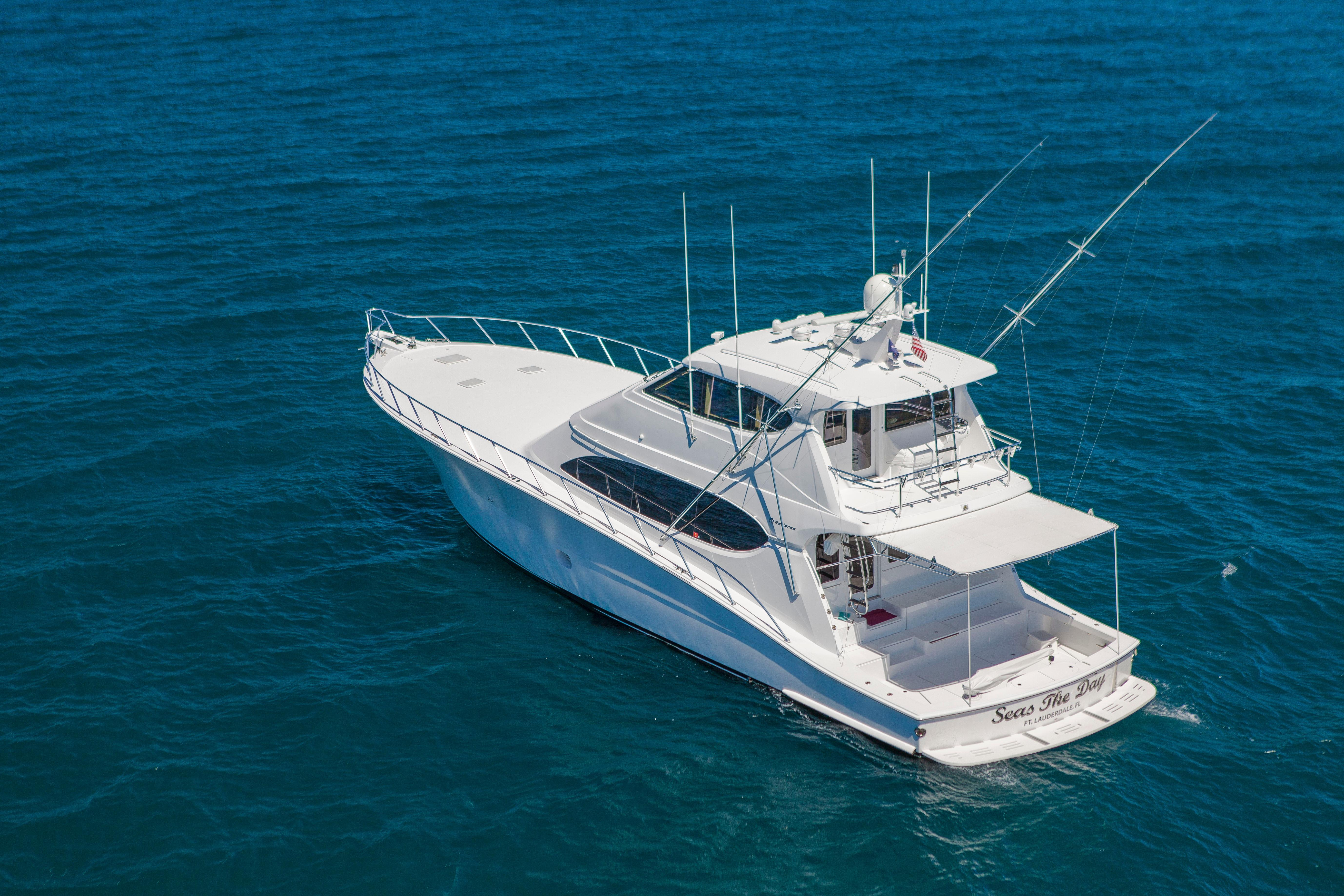 Used hatteras yachts for sale from 71 feet and above for Hatteras fishing boat