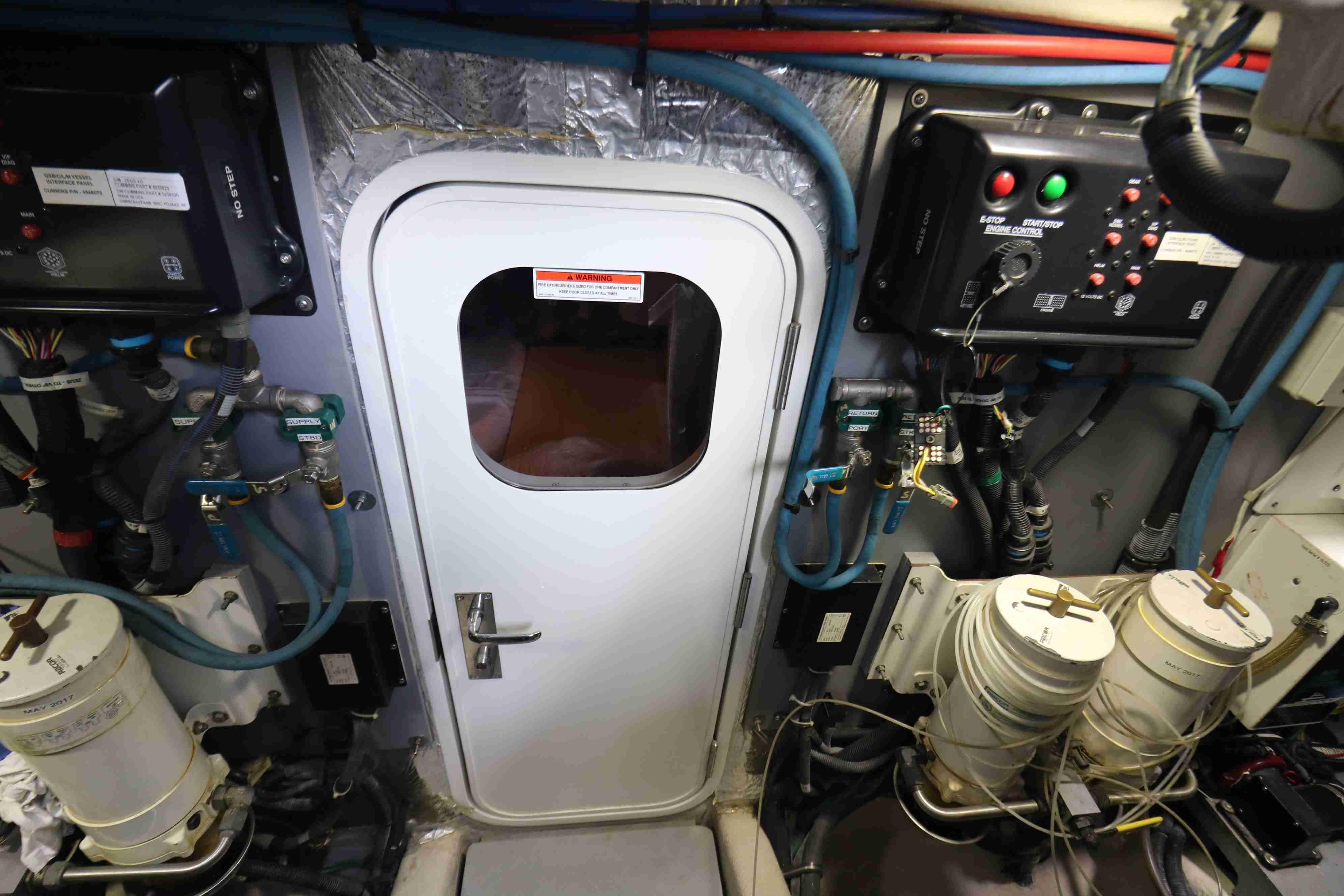 Crew Cabin access