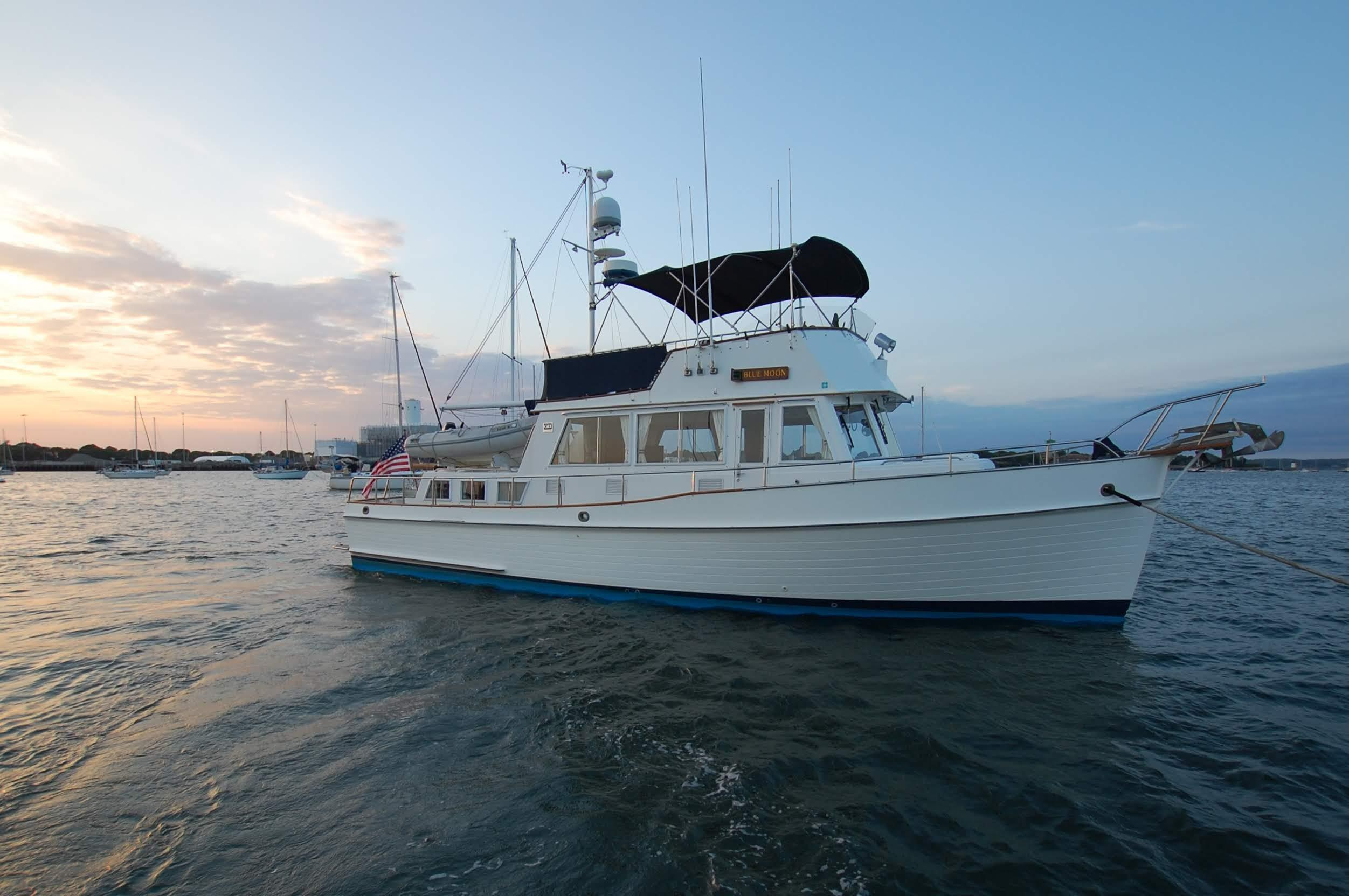 Banks For Sale >> 42 Grand Banks Blue Moon 1988 Danvers Denison Yacht Sales