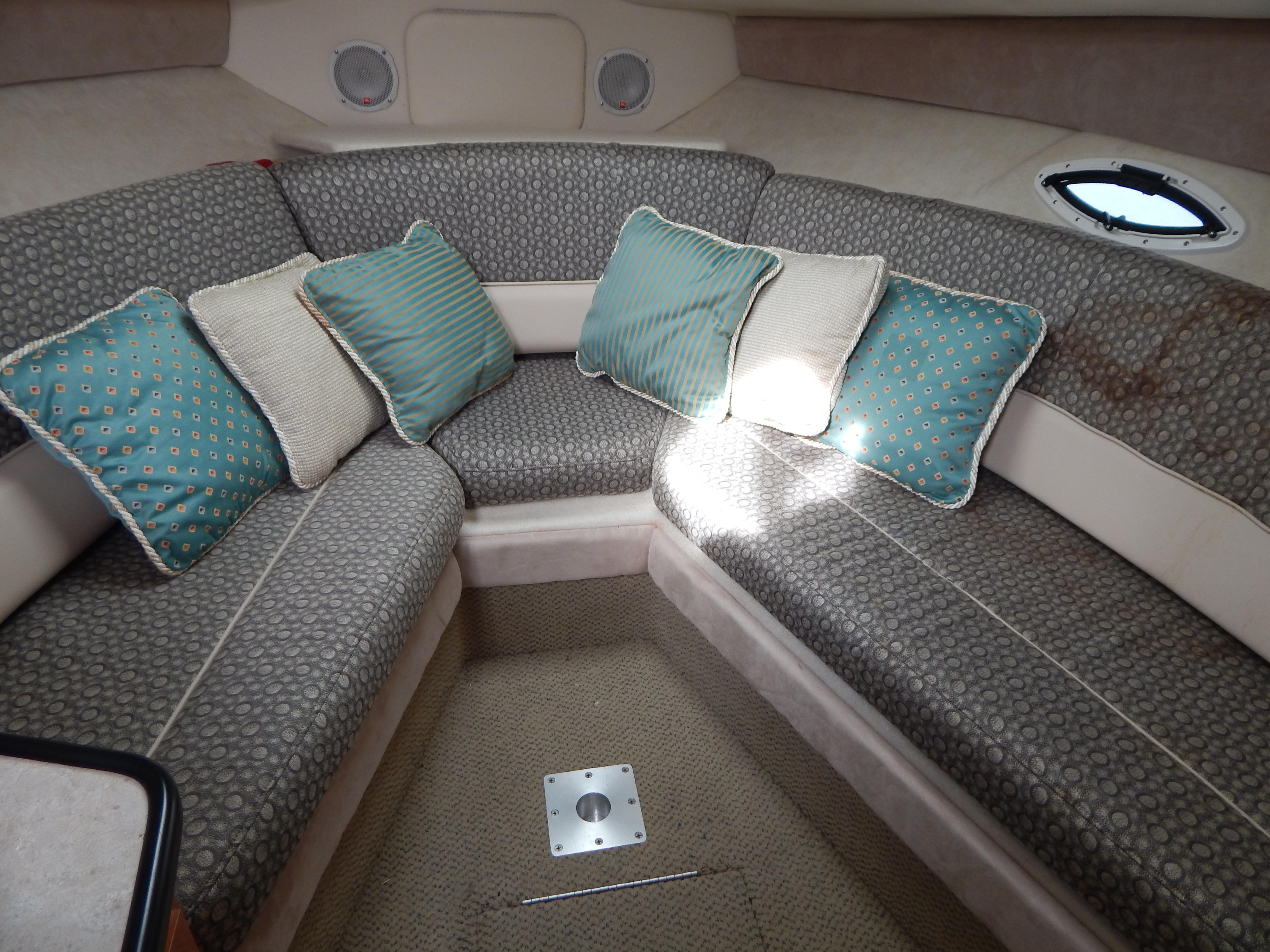 Interior V Bunk with Table