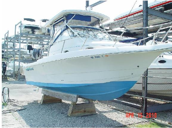 Pro-Line 2610 Walkaround Sports Fishing Boats. Listing Number: M-3677752 26' ...