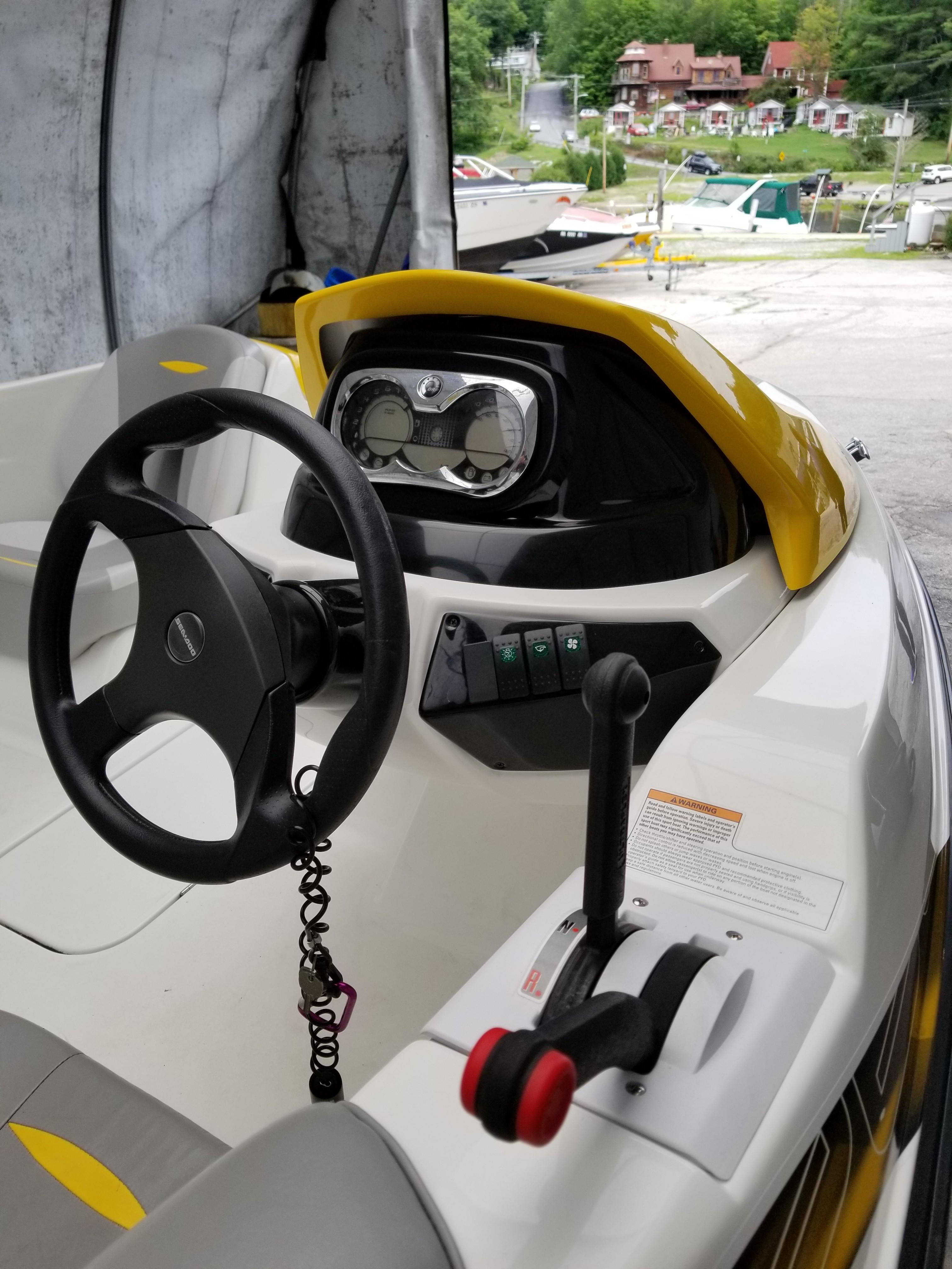 2009 Sea Doo Sportboat boat for sale, model of the boat is 150 Speedster & Image # 5 of 16