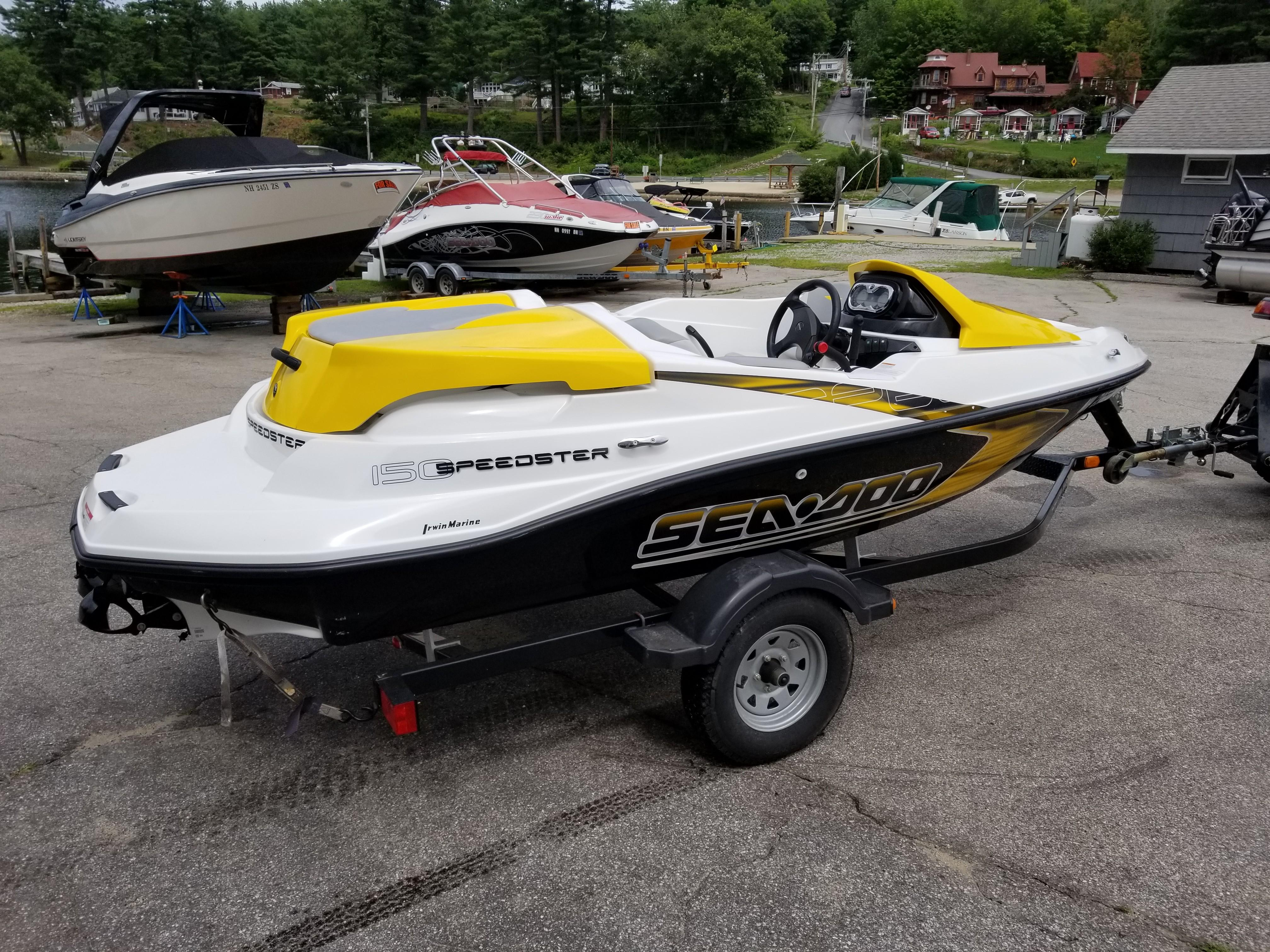 2009 Sea Doo Sportboat boat for sale, model of the boat is 150 Speedster & Image # 2 of 16