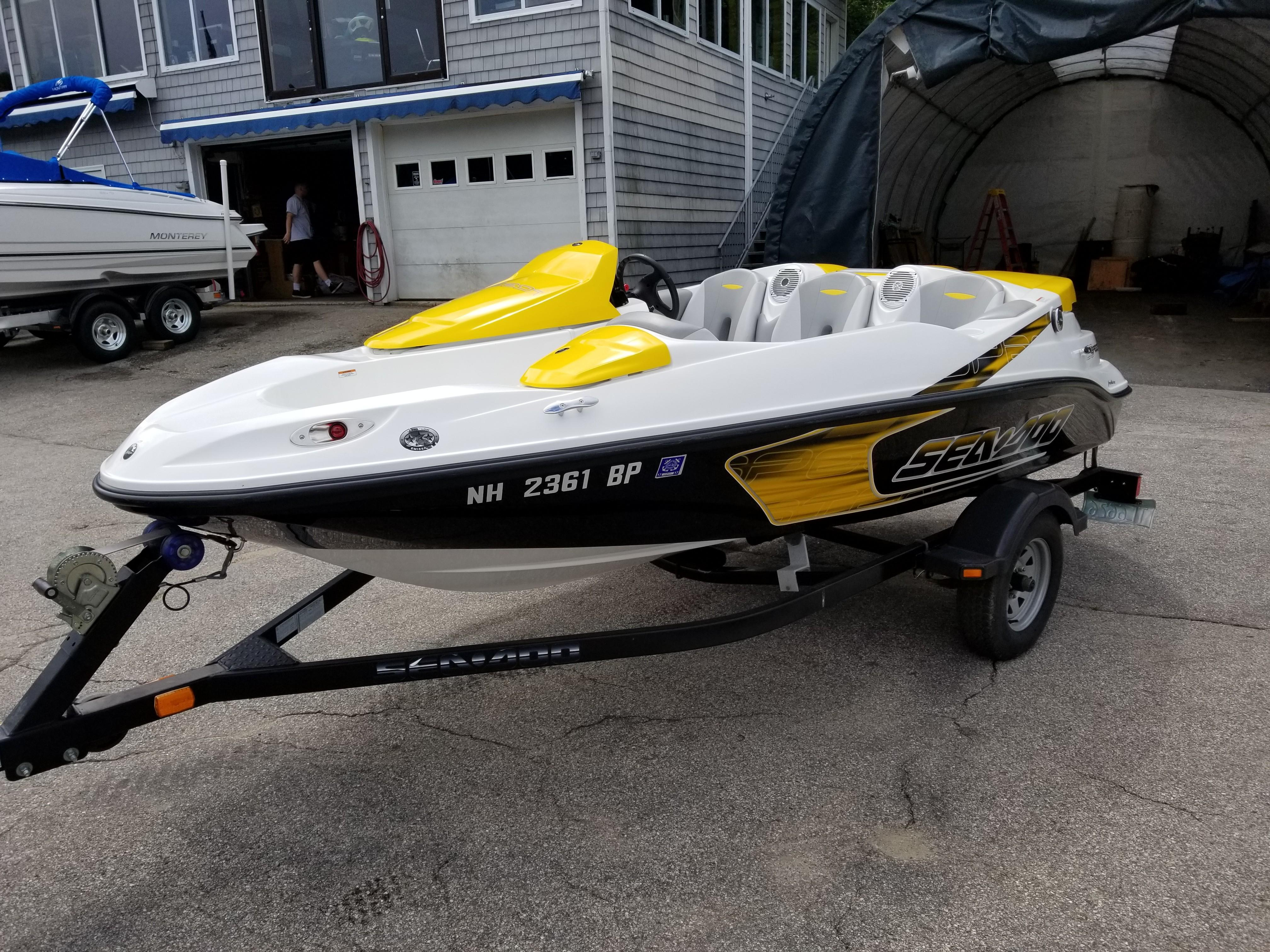 2009 Sea Doo Sportboat boat for sale, model of the boat is 150 Speedster & Image # 1 of 16