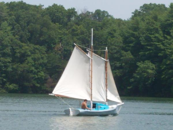 1889 ANTIQUE SAILBOAT for sale