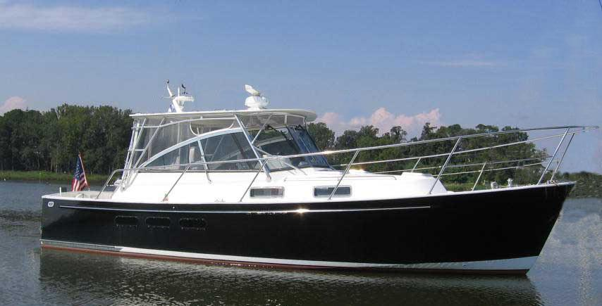 34' Legacy 2000 Downeast Hardtop Express