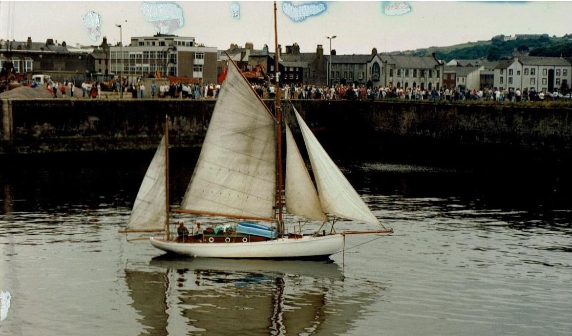 Canoe Stern Yawl