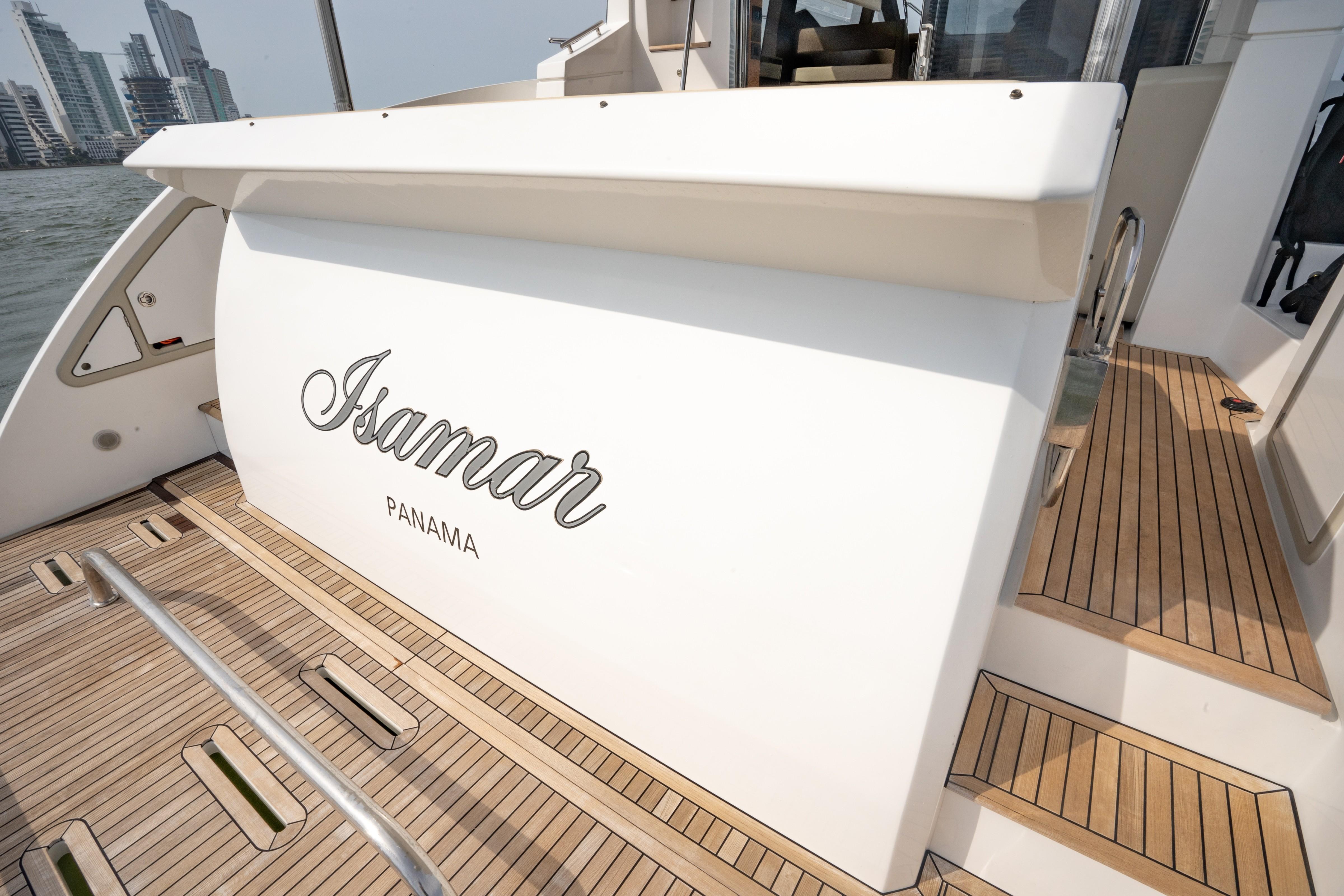 2015 Azimut 50 ''Isamar'' - Swim platform
