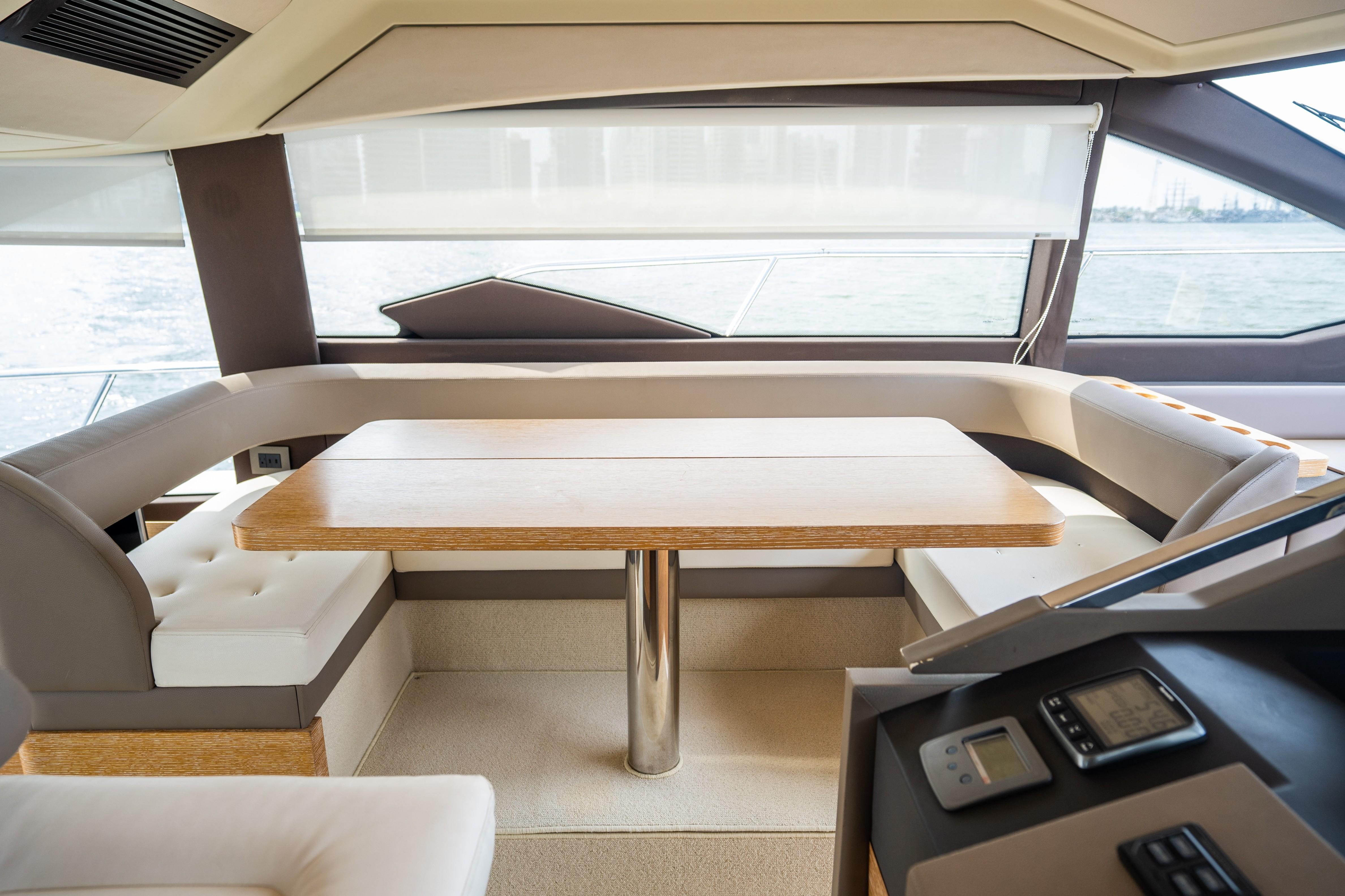 2015 Azimut 50 ''Isamar'' - Helm seating area