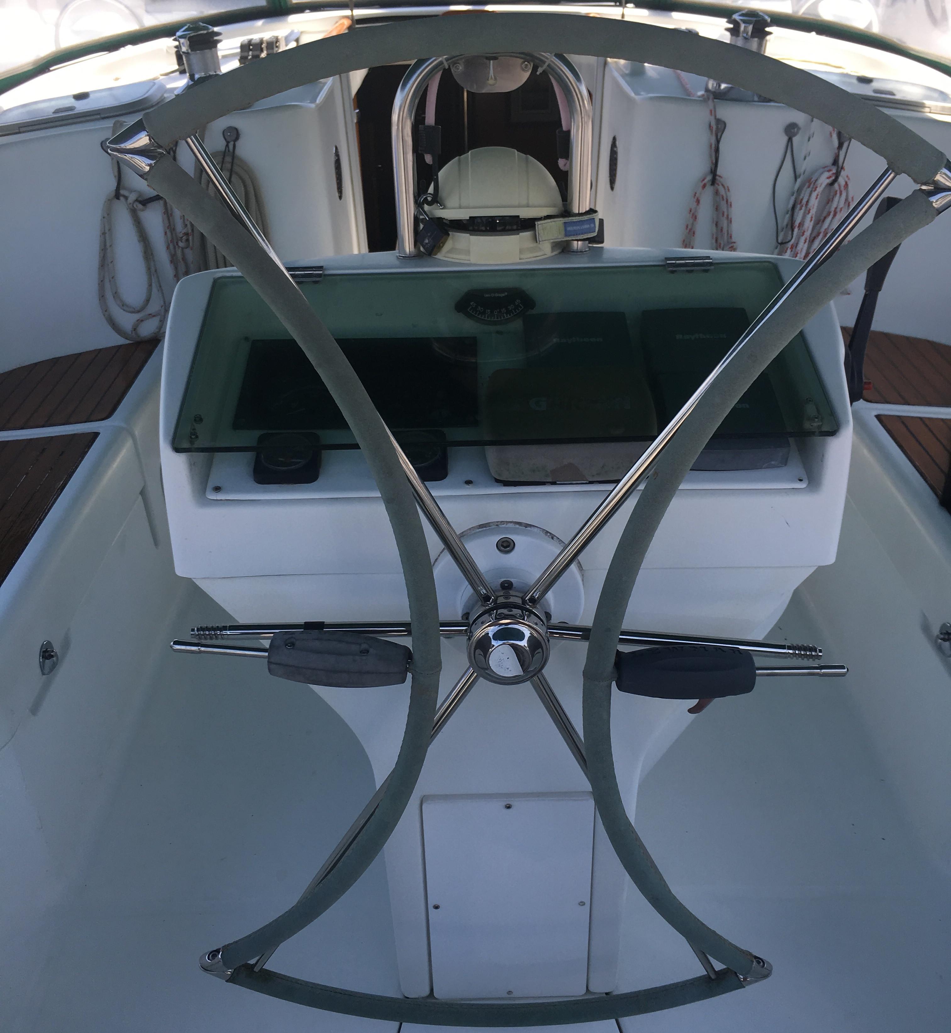Lewmar Wheel Folded