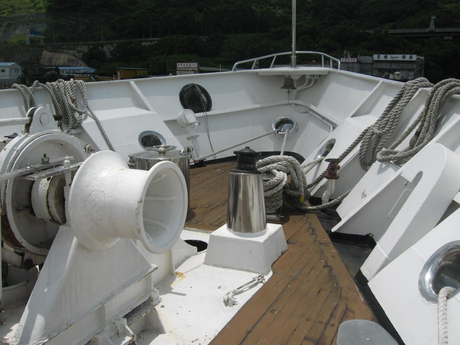 Van Triumph - Bow Deck