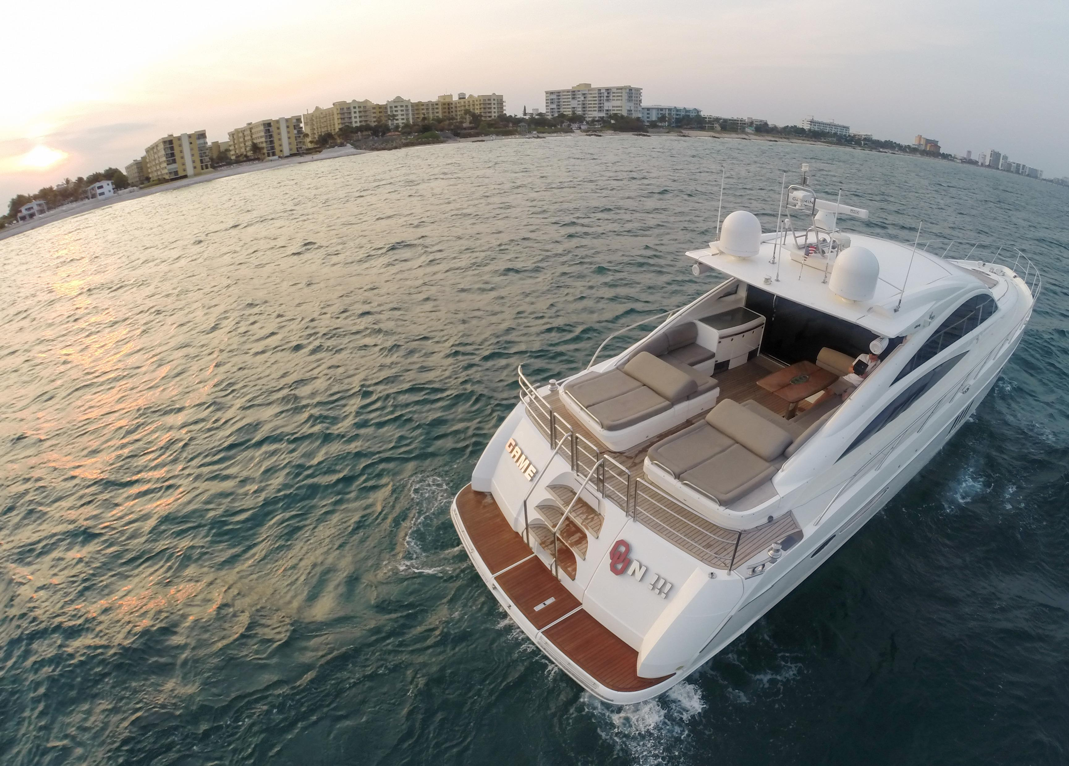 70 viking princess yacht express 2006 game on for sale in pompano beach  florida  us
