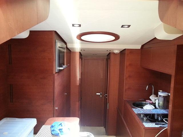 Aicon 85 Flybridge Galley