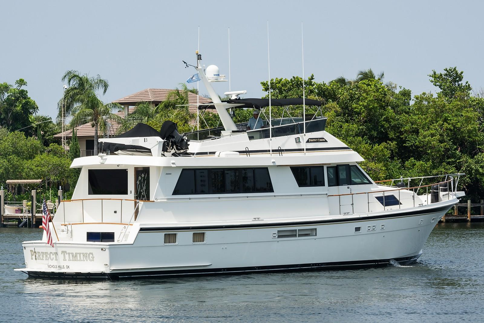 70 Hatteras Perfect Timing 1989 Lighthouse Point | Denison Yacht Sales